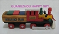 Wooden Train  Building block   Educational Toys  Interesting  Promotional toys