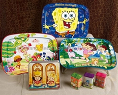 Cute Cartoon Tin Box