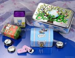 Fashion Type Tin Boxes