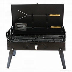 Briefcase Folded BBQ Gril