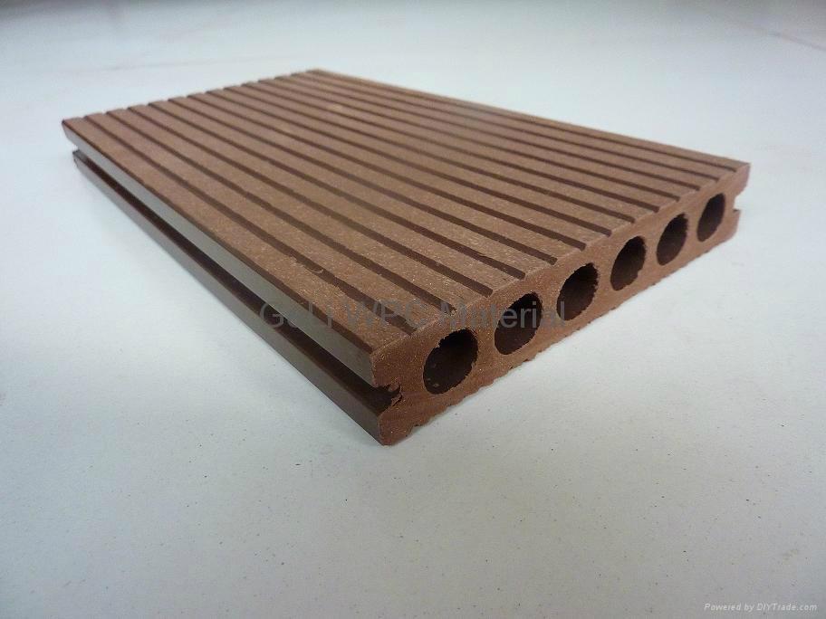 Decorative Decking Wood Plastic Composite Flooring 1