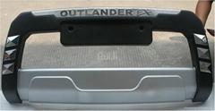 MITSUBISHI OUTLANDER bumper guard grille guard (ABS)
