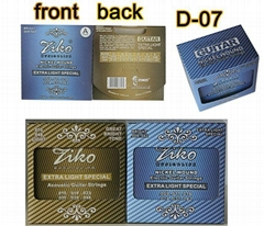 good price and quality cheap yellow acoustic or electric guitar strings