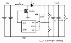 移动电源方案专用升压芯片