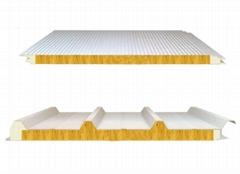 新型聚氨酯封边玻璃丝绵夹芯板