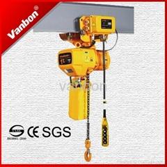 1t electric chain hoist