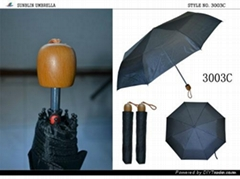 Cheap 3 Fold Promotional Umbrellas
