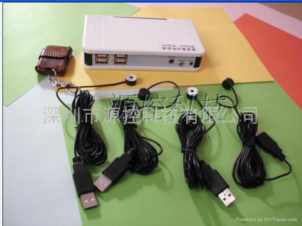 多路手机充电防盗器 2