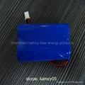 high capacity battery holder 18650 3.7v