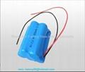 6V AA800mAh  Ni-Cd battery pack