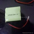 3.6V  AAA500 nimh battery pack