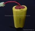 SC1000mAh 4.8V Ni-Cd battery pack