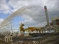 Steel structure shed - barrel frame