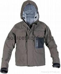 Breathable wading jacket