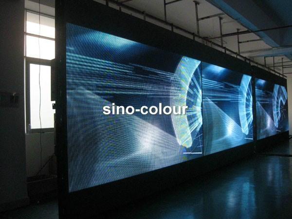 P7.62室內全彩顯示屏 1