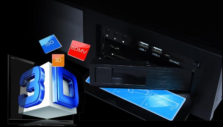Hi-Fi home theater system Active 3D blue-ray hdd internet media player 5