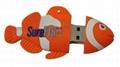 fish designed USB flash drive 1