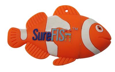 fish designed USB flash drive 2