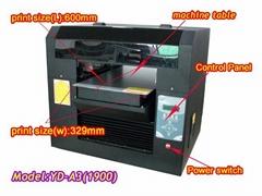 high grade Universal printer products YD A3(1900c)  Flat-bed printer