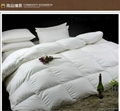 95% Washed White Goose Down quilt with 100%Cotton fabric High threat count High  2