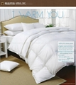 95% Washed White Goose Down quilt with 100%Cotton fabric High threat count High  5