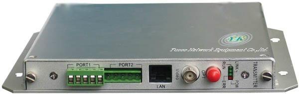 1-channel - video + audio + data + Ethernet + telephone + switch value Digital V 1
