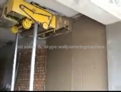 high quality efficiency wall plastering machine for sale