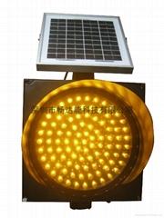 太陽能黃閃燈400MM