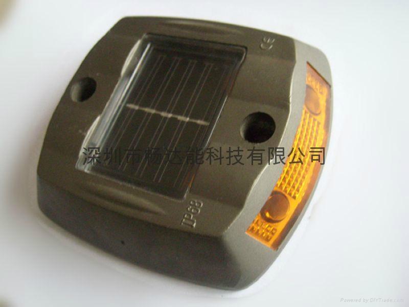 太陽能鑄鋁反光面道釘燈 1