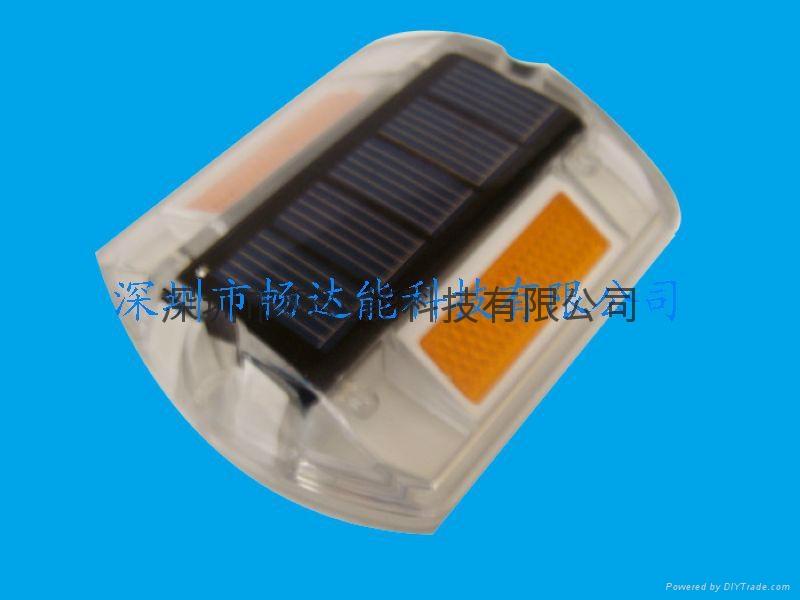 太陽能塑料反光道釘燈 1