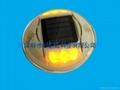 太陽能發光道釘燈