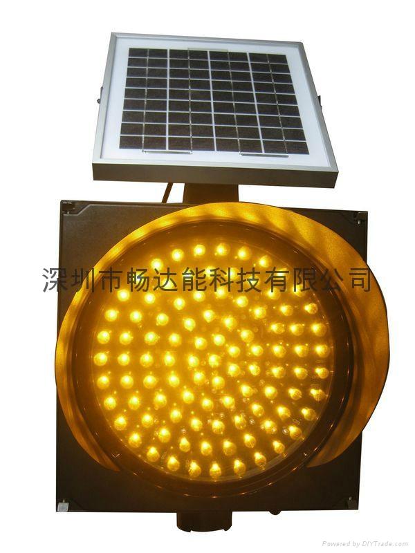 太陽能黃閃加慢燈 3