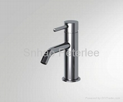 Single handle basin faucet mixer tap with bubbler