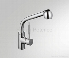 Single handle kitchen faucet m mixer tap (pull out style twp types of spray