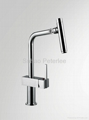 Single handle kitchen faucet mixer tap with bubble universal rmoving head