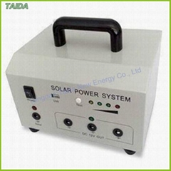 10w portable solar power home system for lighting