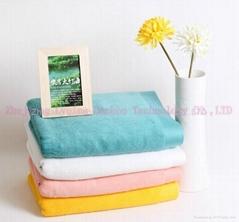 qing Bamboo fiber bath towel