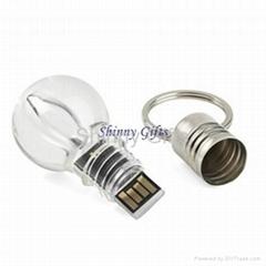 light bulb shape usb flash drive