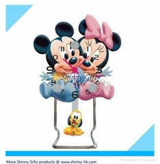 Cartoon Mickey Desk clock