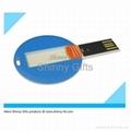 Promo Gifts credit card shaped usb flash drive Token Drive 1