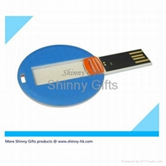 Promo Gifts credit card shaped usb flash drive Token Drive