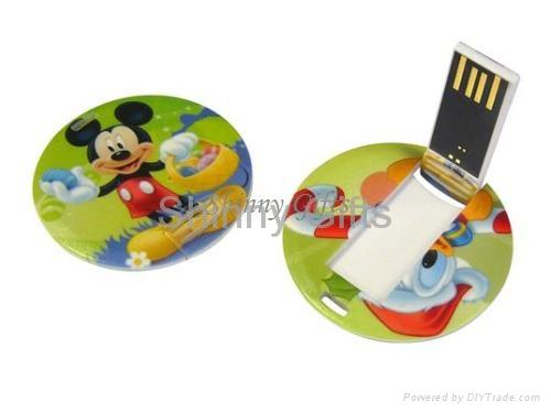 Promo Gifts credit card shaped usb flash drive Token Drive 3