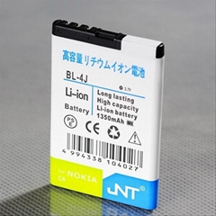 Quick charge Li-ion mobile phone battery BL-4J for Nokia, original technology
