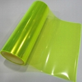 PVC  Fluorescent Yellow Car Light