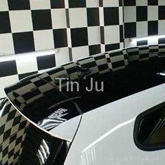 Newest car roof membrane film 1.35m*15m Black