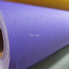Glitter Purple Car Color Vinyl Film