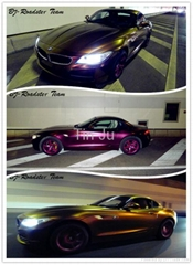 Hot product ! Chameleon Car Wrapping Vinyl Film with air-free bubbles