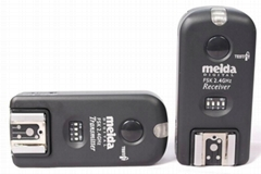 美达 2.4G 四合一多功能无线触发器闪光灯无线引闪器无线快门遥控器