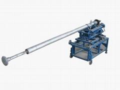 Floor&suspended top roller machine