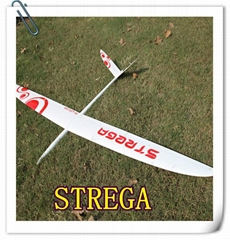 Composite RC Glider Strega 3M span in full carbon version